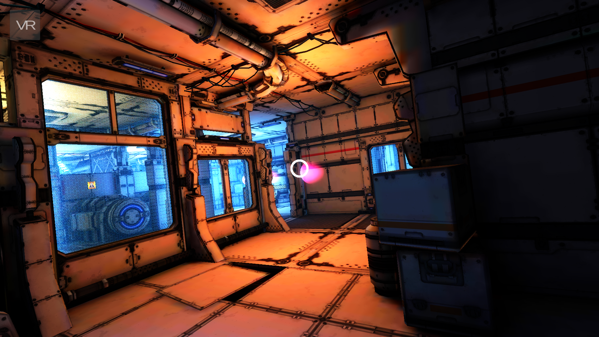 VR Spaceship: an immersive VR tease – The Southern Nerd