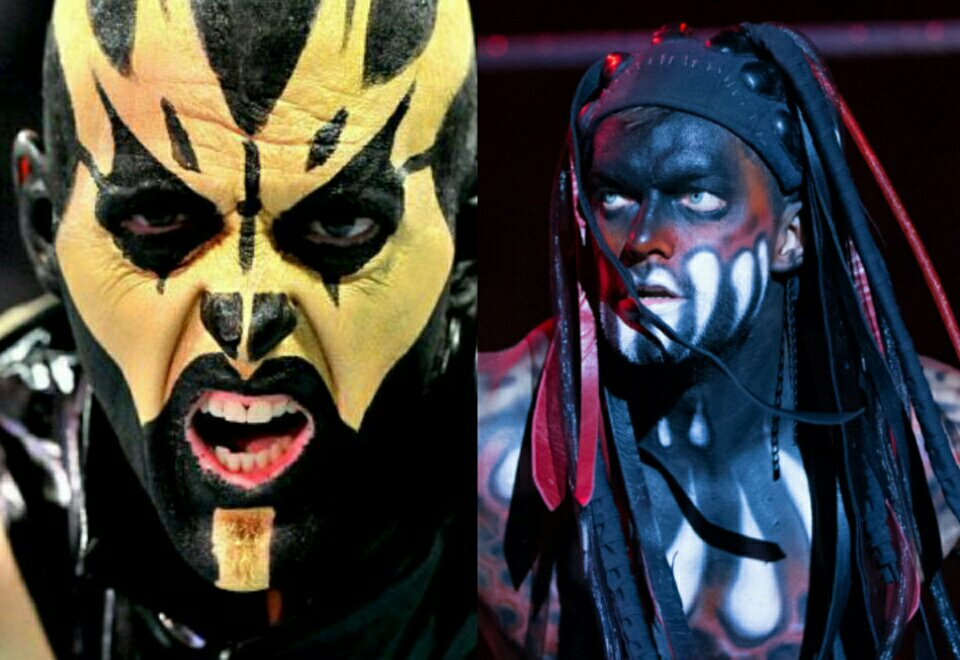 Goldust Finn Balor The Demon