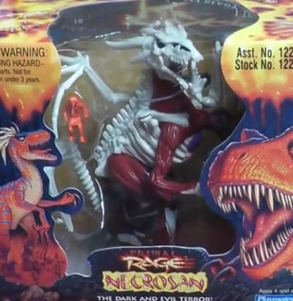 Necrosan toy Primal Rage 2 Playmates