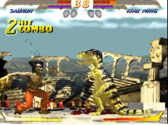 Sauron vs Kiao Ming Primal Rage 2
