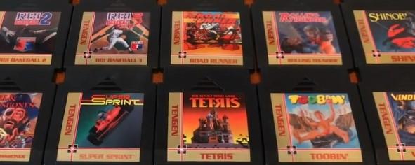 Tengen NES cartridges Nintendo Atari Games
